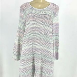 New J.Jill Women pup over sweater tunic